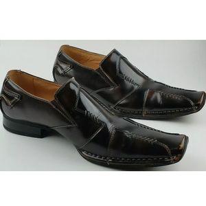 Men's A. Cellini Brown Dress Shoes 11M Leather